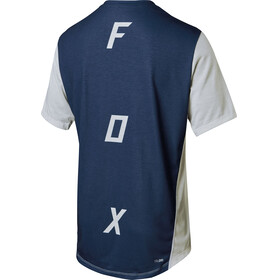 Fox Indicator Asym Short Sleeve Jersey Men cloud grey
